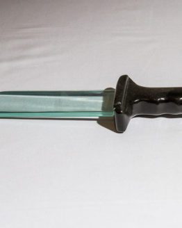 Glass Bowie knife 2